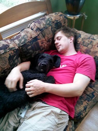 Kibo and Matt Cuddles