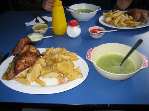 Food in Cusco